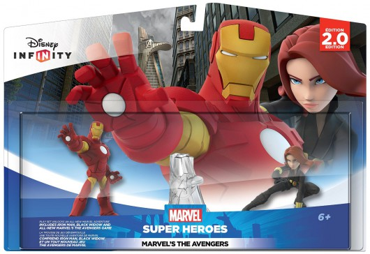 The Avengers Play Set - Packaging