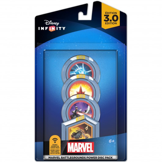 Marvel Battlegrounds Power Discs - Packaging