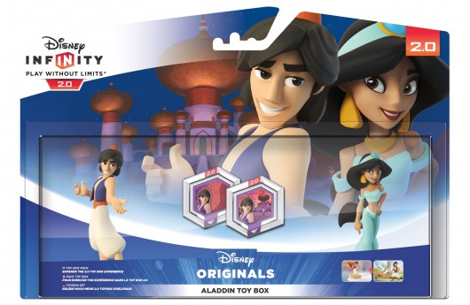 Aladdin Toy Box Pack (Aladdin, Jasmine) - Packaging (EU)
