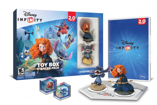 Toy Box Starter Pack (Merida, Stitch) - Packaging