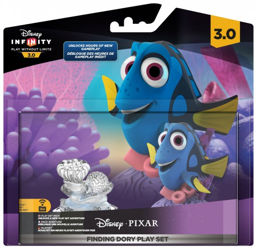 Finding Dory Play Set - Packaging (EU)