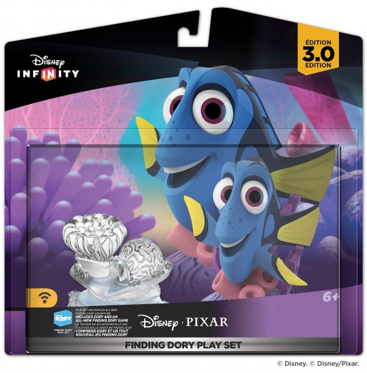 Finding Dory Play Set - Packaging