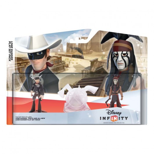 The Lone Ranger Play Set - Packaging (EU)