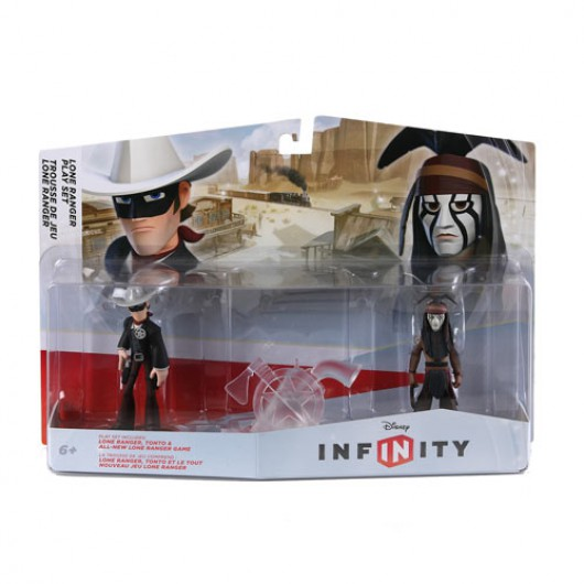 The Lone Ranger Play Set - Packaging